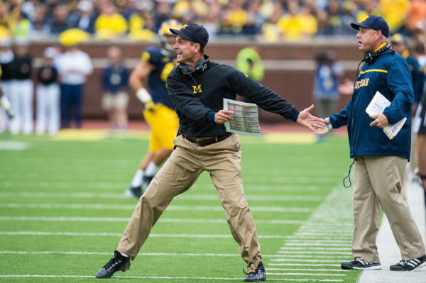 Harbaugh vs Oregon State
