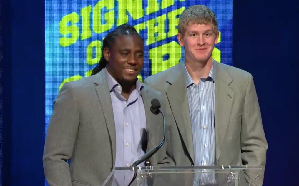 Denard Robinson and Jake Rudock
